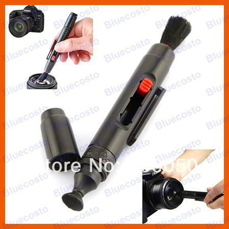 New Arrival 3in1 Clean Pen,Lens Dust Cleaner For DSLR VCR DC Camera Canon Nikon Sony Retail(China (Mainland))
