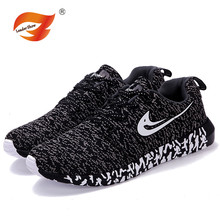 new 2016 fashion shoes Spring Casual Rubber soles men flat walking shoes for woman zapatillas mujer(China (Mainland))