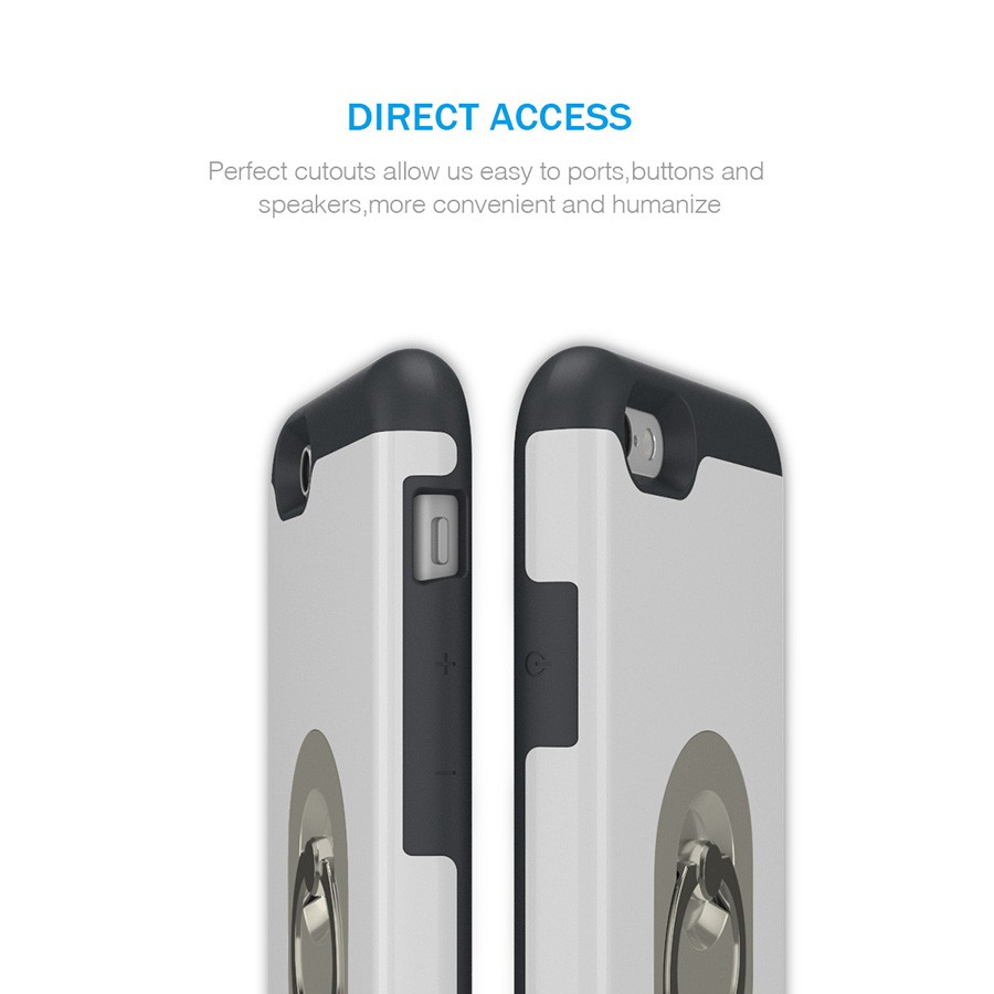 G.D.SMITH Luxury Ring Cover Case for iPhone 6 6s Unique Cell Phone Coque For Apple iPhone6 6s 4.7″ Retail and Wholesale 2016 New