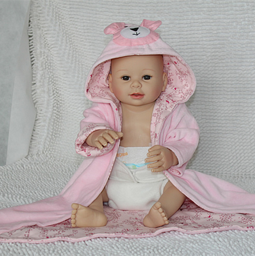 20 inch full vinyl new born baby doll nursery teacher training toy(China (Mainland))