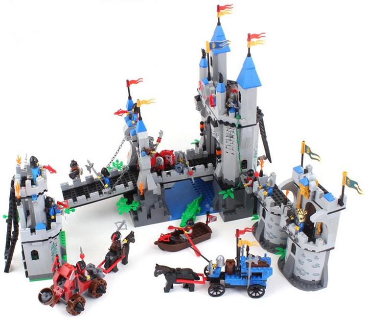 Enlighten Building Blocks Hot Toy Castle Knight Series Construction Sets Educational Bricks Boy Model Gift - C&T Toys store