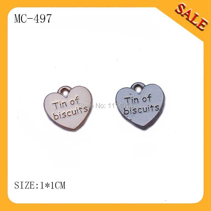 MC497 Fashion Heart shape custom handbag hang tag with brand logo<br><br>Aliexpress