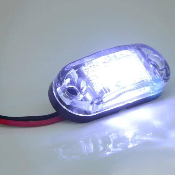 new led side marker light clearance lamp 12v 24v for car. Black Bedroom Furniture Sets. Home Design Ideas