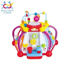 2014 hot sale NEW Multifunctional Musical Toy Colorful Baby's Happy World Learning & Educational Toys Good gift for children kid(China (Mainland))