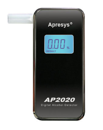 ASY2020 breathing alcohol detector portable color LCD backlight(China (Mainland))