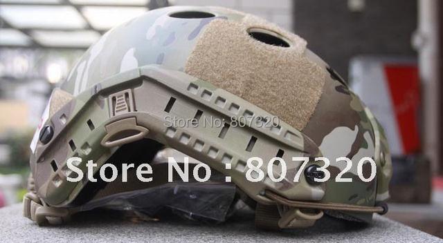 Fast Base Jump Helmet Navy Seal Carbon Shell Multicam PJ-MC