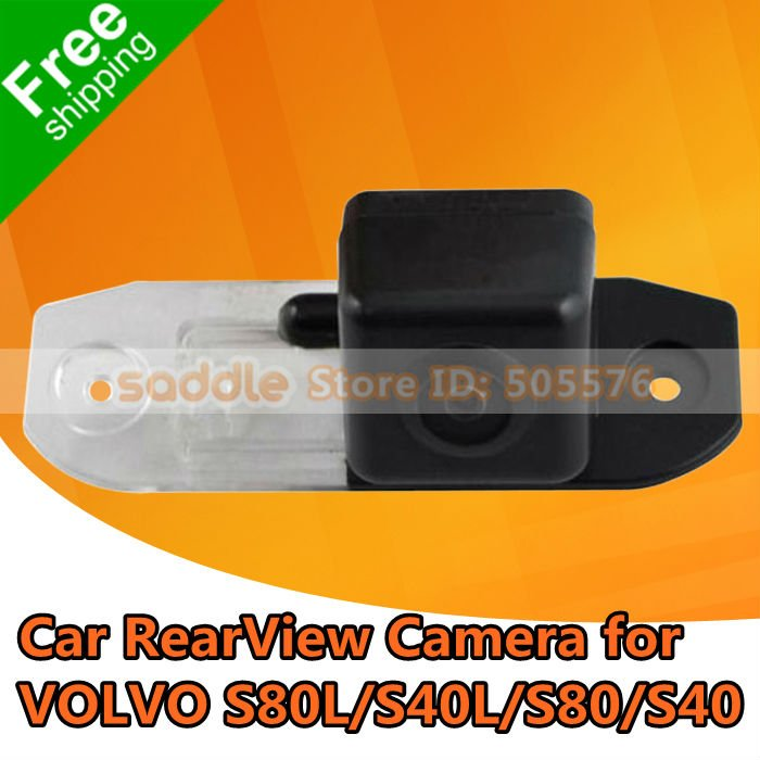 VOLVO Car Rear View Camera , Car Reverse Camera For VOLVO S80L/S40L/S80/S40 with CCD + Waterproof IP67 + Free Shipping