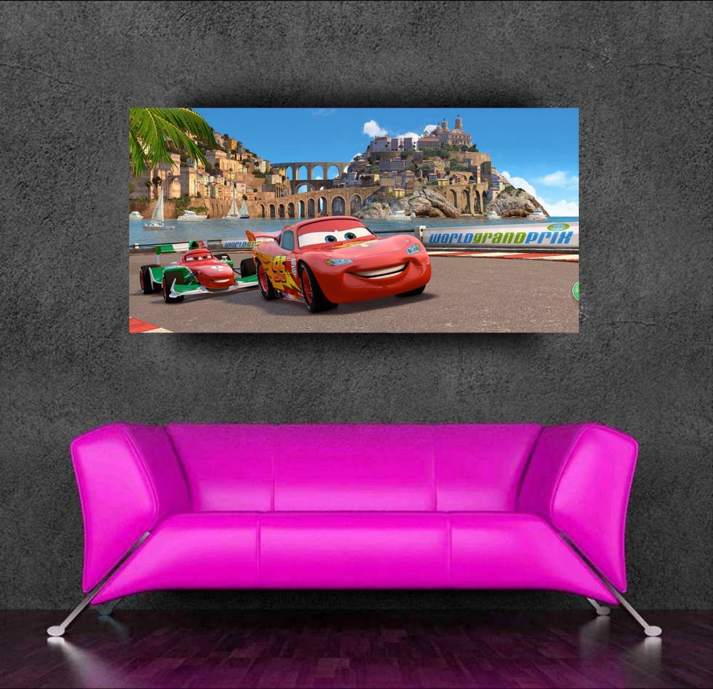 New pixar cars mcqueen adesivos decorativos poster for Stickers decorativos