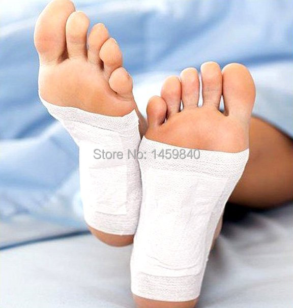 30 pcs/lot Kinoki Detox Foot Pads Patches with Adhesive FREE SHIPPING(China (Mainland))