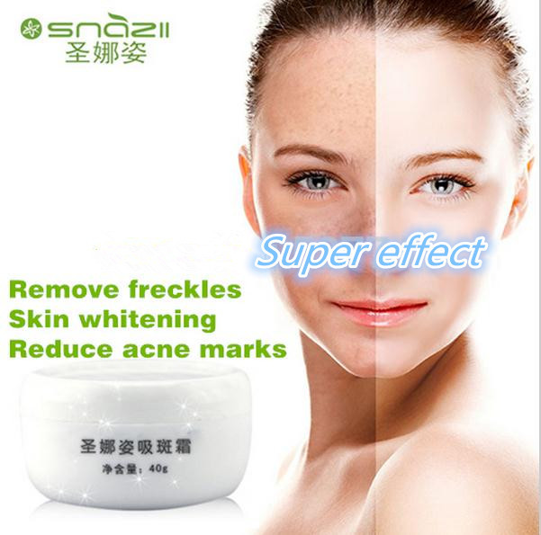 snazii remove freckles face cream dark spot remover skin lightening cream dark skin anti freckle cream whitening cream(China (Mainland))