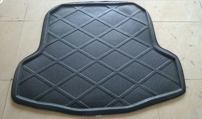 FIT FOR Nissan Teana 2008-2011 Car Styling Rubber Car Trunk Mat BOOT MAT REAR TRUNK LINER CARGO FLOOR TRAY Auto Accessories(China (Mainland))