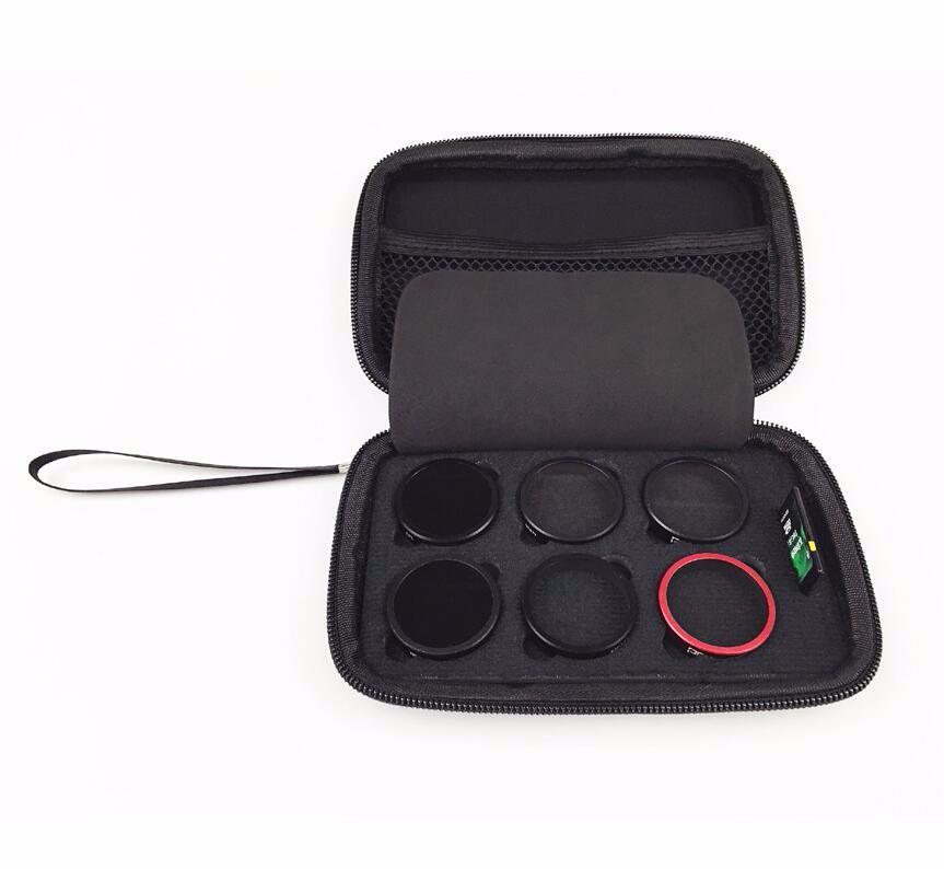 DJI Phantom 4 Phantom 3 filter Storage bag storage box drop resistance shock Portable Accessories