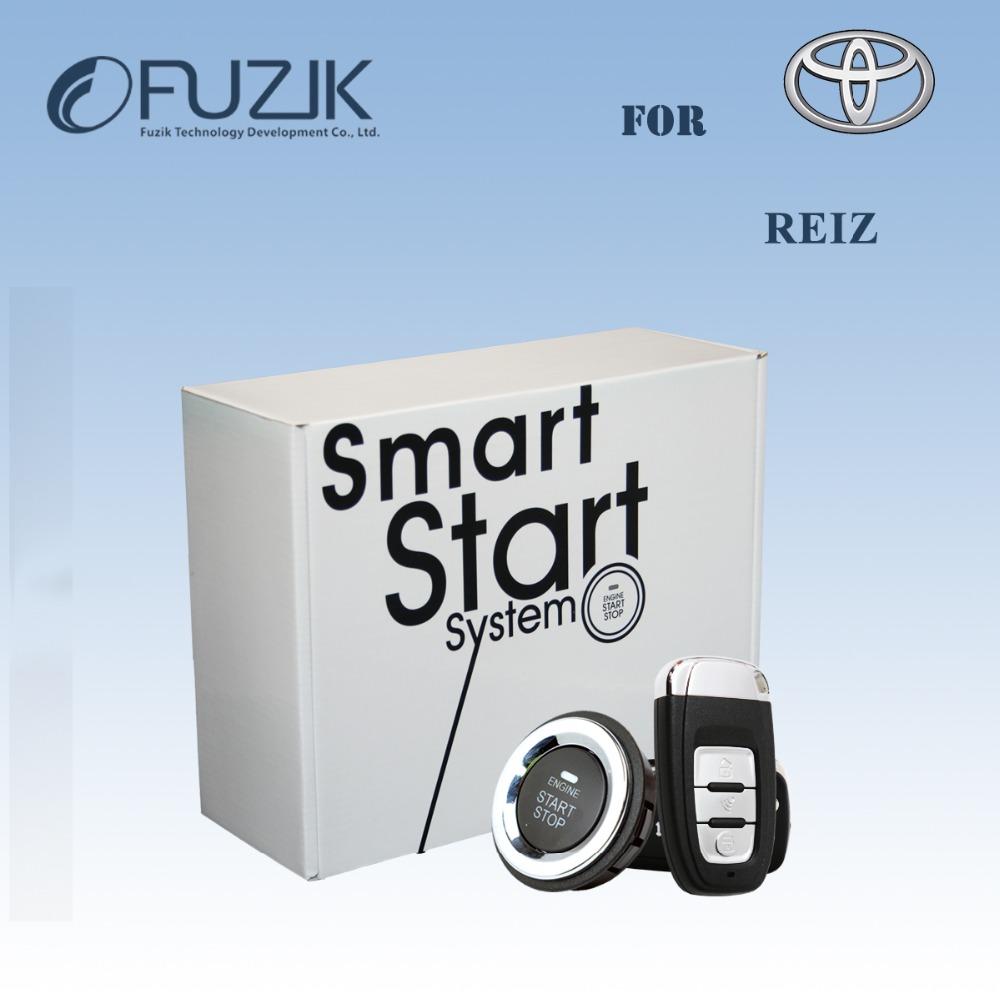 REIZ Mark-X PnP Wire-Free Keyless Entry Remote Start Car Alarm Keyless Go Smart Key Push Button Plug&Play for Toyota(China (Mainland))