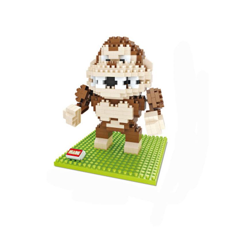 Donkey Kong Model Action Figures Building Blocks Pixels Cartoon Game Gift Present Toys For Children DIY Mini Bricks(China (Mainland))