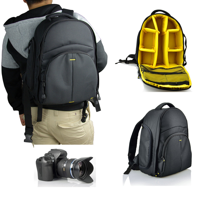 new free shipping women men Photography backpack SLR Camera package Waterproof bags outdoor camera dag(China (Mainland))