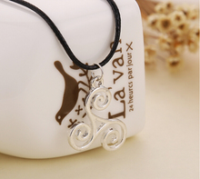 819 Euro American Movie Wolf Teen Pendant Necklace Alloy Necklace With Rope For Male Jewlery