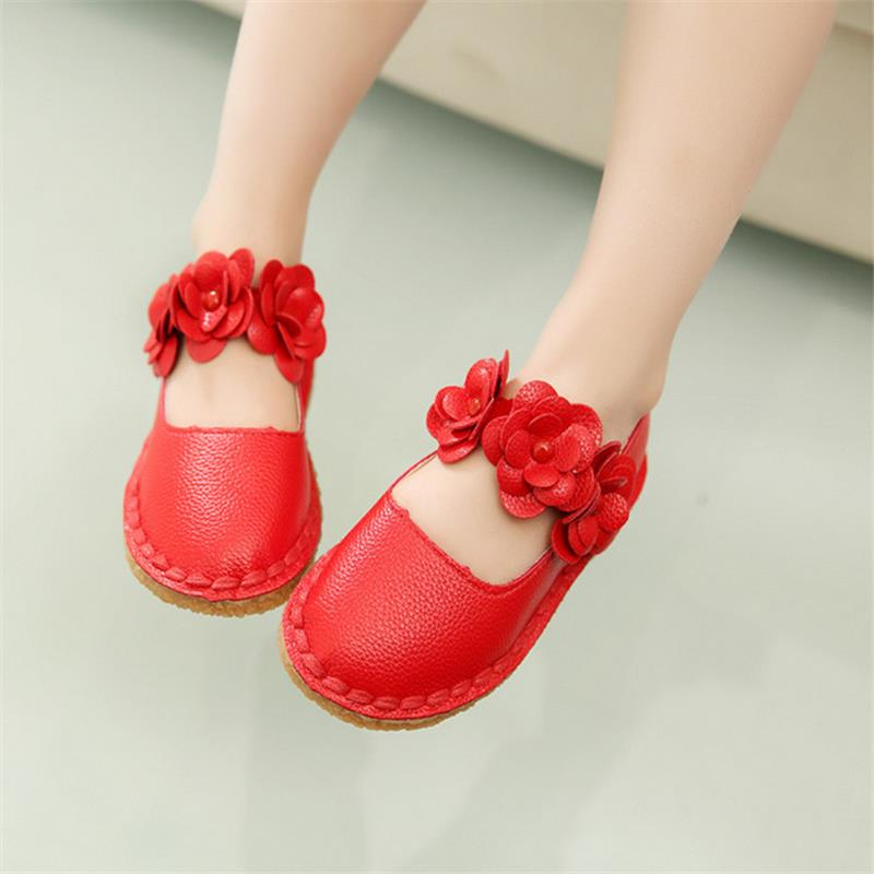 Girls Shoes Children Princess Shoes 2016 Brand Spring Summer Baby Kids Leather Shoes for Girls Sandals Baby Girl Dancing Shoes(China (Mainland))