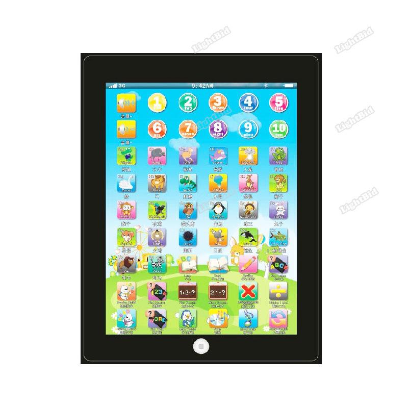 lightbid helpful Kids Educational Computer Tablet Chinese English Learning Study Machine Toy #03 Buyable!(China (Mainland))