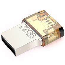 EAGET V8 32GB Metal OTG USB Flash Drive USB Stick 32 GB USB2.0 OTG Pen Drive Pendrives Encryption for Android Smartphone Tablet(China (Mainland))
