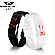Digital Watches Men Womens Bracelet LED Watches relogio masculino saat sport men watch military clock kids electronic wristwatch(China (Mainland))