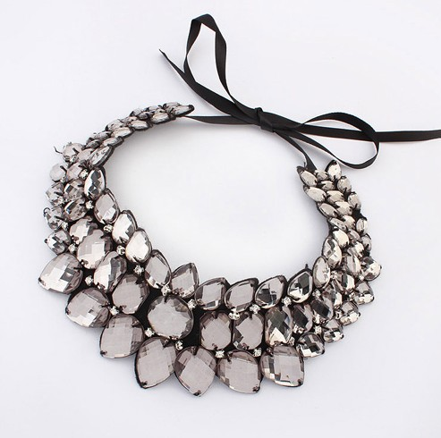 New Fashion Unique Exaggerated Luxurious Choker Necklace &amp; Pendants Statement Necklace Jewelry For Women Jewelry Free Shipping<br><br>Aliexpress