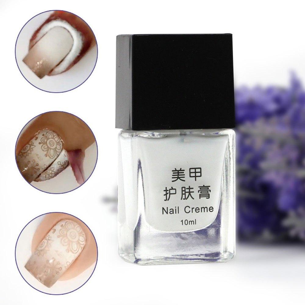 15ML Nail Art Tools Manicure Skin Care Cream Protected Liquid Palisade Fingernail Edge Polish Nail Skin Care Creme