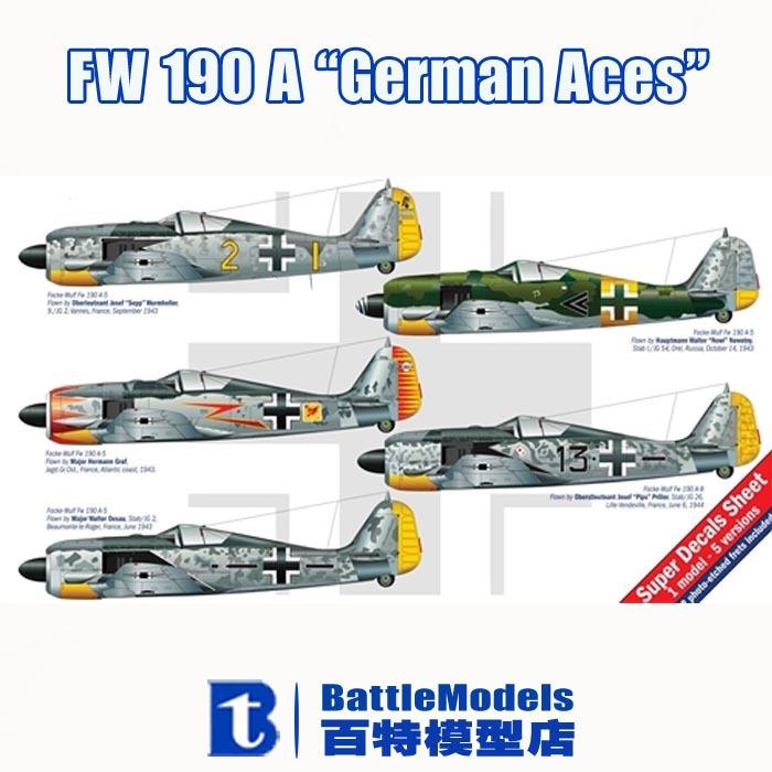 "ITALERI MODEL 1/48 SCALE military models #2693 FW 190 A ""German Aces"" plastic model kit(China (Mainland))"