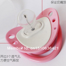 Free shipping Infant Baby Digital Dummy Pacifier Thermometer Soother Trendy Safe IA646 W