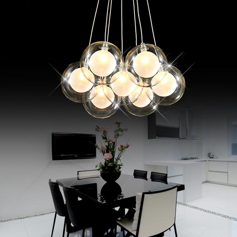 Bulle de verre lustre promotion achetez des bulle de verre lustre promotionnels sur aliexpress - Grande lampe a bulle ...