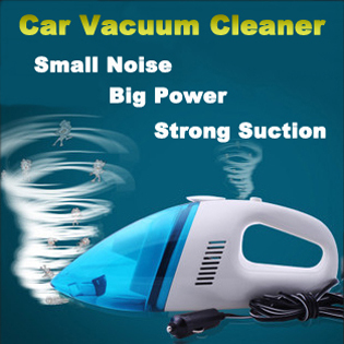 New High Power Super Suction Car Vacuum Cleaners 12V 60W Universal Portable Wet and Dry Handhold Mini Automotive Vacuum Cleaner(China (Mainland))
