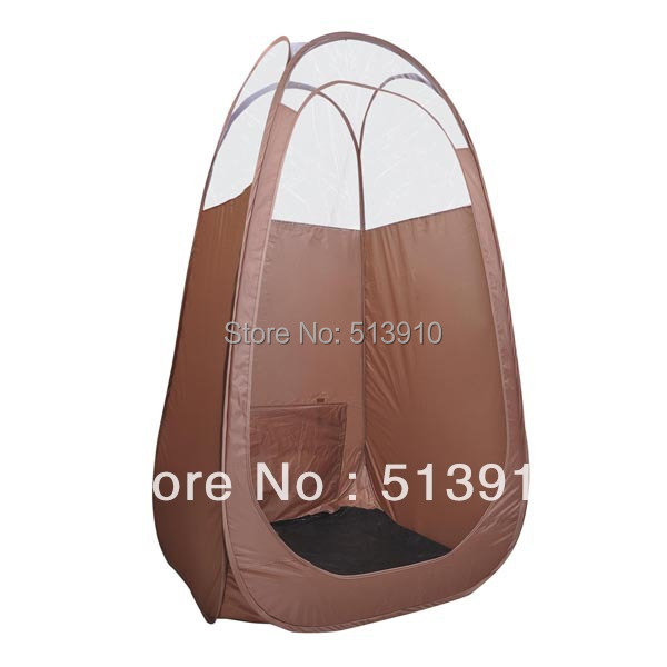 Brown Pop Up Airbrush Sunless Tanning Tent Booth Clear Top/top quality popular in European & American market(China (Mainland))