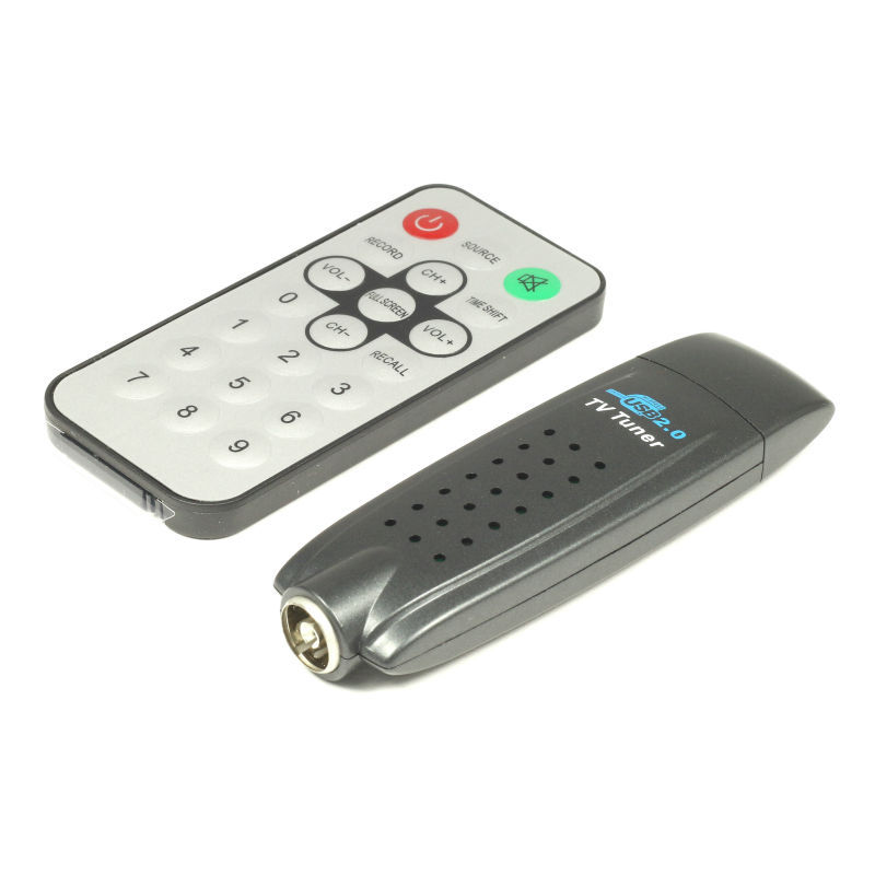 2015 New USB Analog TV Tuner Global TV Stick Receiver for PC with Remote Controller(China (Mainland))