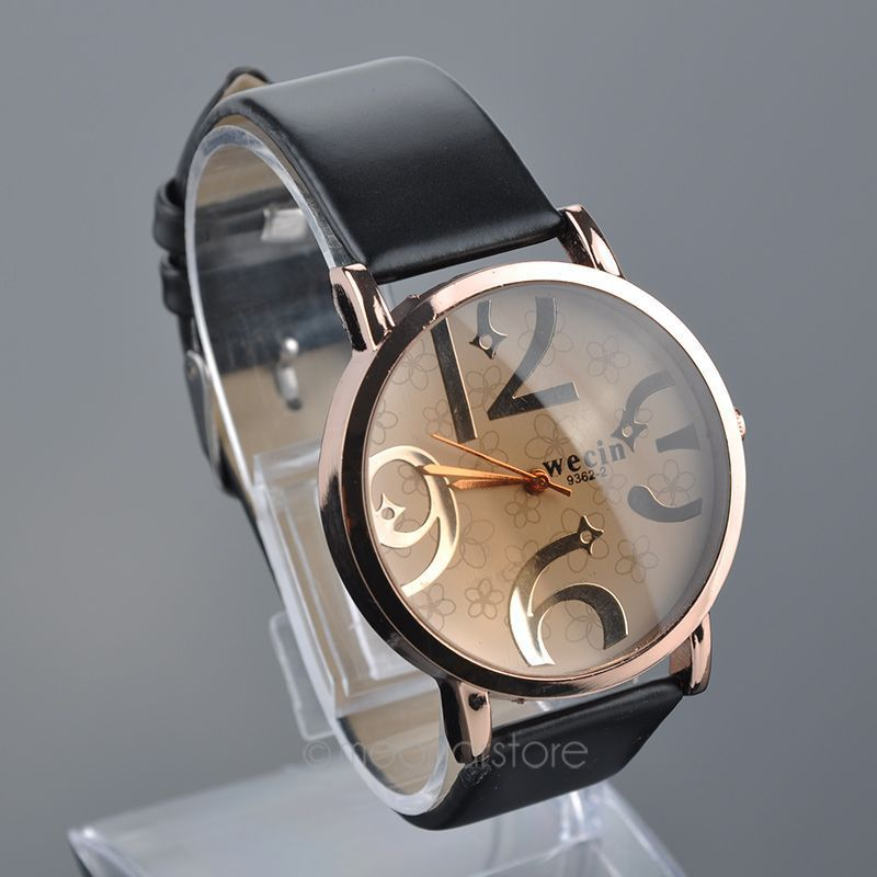Relojes Quartz Men Watches Casual Color Leather Strap Watch Women Wristwatch Relogio Masculino 46 MPJ685 A4