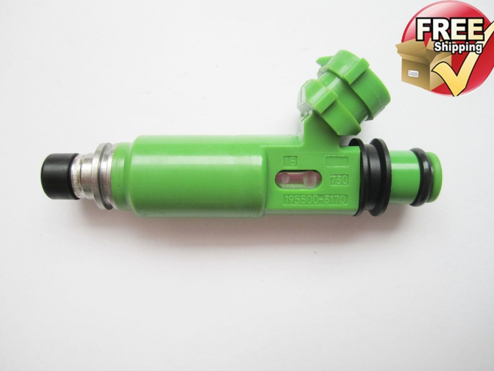OEM 195500-3170 1955003170 MD332733   for Mitsubishi Montero Sport 3.0L 6G72 Denso Fuel Injectors<br><br>Aliexpress