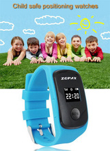 Дети SOS часы ZGPAX S22 отслеживания Smartwatch сейф телефон для детей GSM GPS Telemonitoring двунаправленный вызова бесплатная доставка