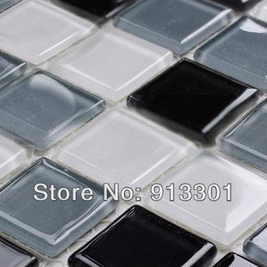Bagno di piastrelle di vetro grigio renato ricci musica - Piastrelle di vetro ...
