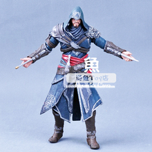 "Genuine high quality NECA Assassins Creed Altair Ezio Connor 15cm 7"" 4 Style pvc action figures classic toys for kids children(China (Mainland))"