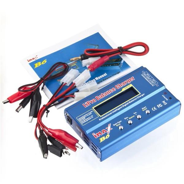 100% Good Quality imax B6 mini Lipro NiMh Li-ion Ni-Cd RC Battery Balance Digital Charger Discharger(China (Mainland))