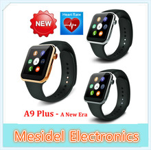 A9 Plus New Bluetooth Smart watch for Apple iPhone & Samsung Android Phone relogio inteligente reloj smartphone watch