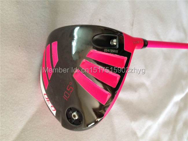 """Brand New Pink G30 Driver G30 Driver Golf Driver Golf Clubs 9""""/10.5"""" Degree Regular/Stiff TFC419 Shaft With Cover Wrench(China (Mainland))"""
