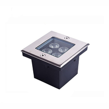 Buy 4*1W Squared Underground Lamp IP67 LED Buried Light WW/NW/CW AC85-265V Floor Outdoor Garden Plaza Lighting Stainless Steel for $23.50 in AliExpress store