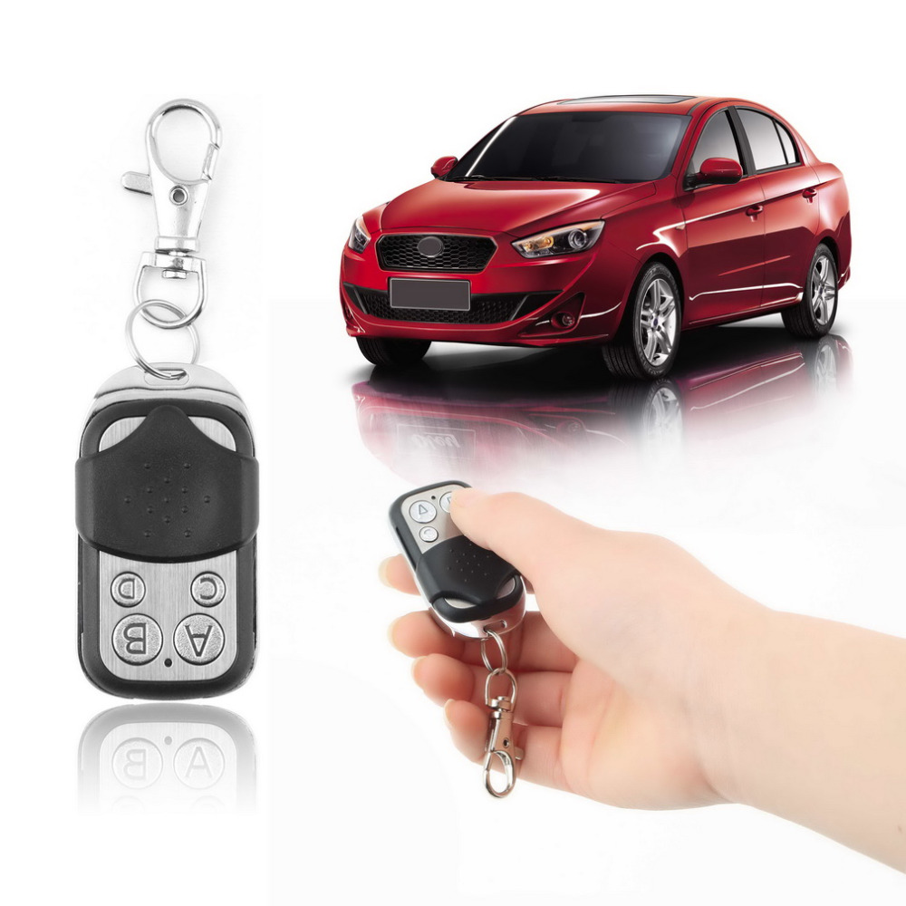 Wireless Auto Remote Control Electric Cloning Universal Gate Garage Door Remote Control Fob 433mhz Key Keychain Remote Control(China (Mainland))