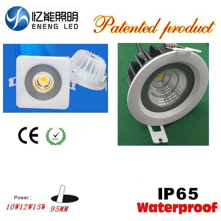 Waterproof 2.5inch IP65 5W7W10W Round led cob downlight Open75MM with cob led AC85-265V<br><br>Aliexpress