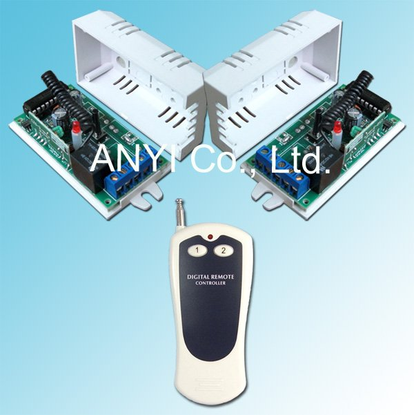 DC12V 1 Channel RF Wireless Remote Control Switch System,Motor Fan TV Light Controller,Control Lamps Light By Broadlink RM2 pro(China (Mainland))