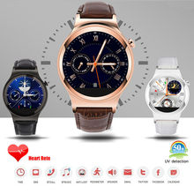 2015 New Top Configuration S3 Smart Watch Support SIM SD Card Bluetooth WAP GPRS SMS MP3 MP4 USB For IPhone4 5 6 Android Phones