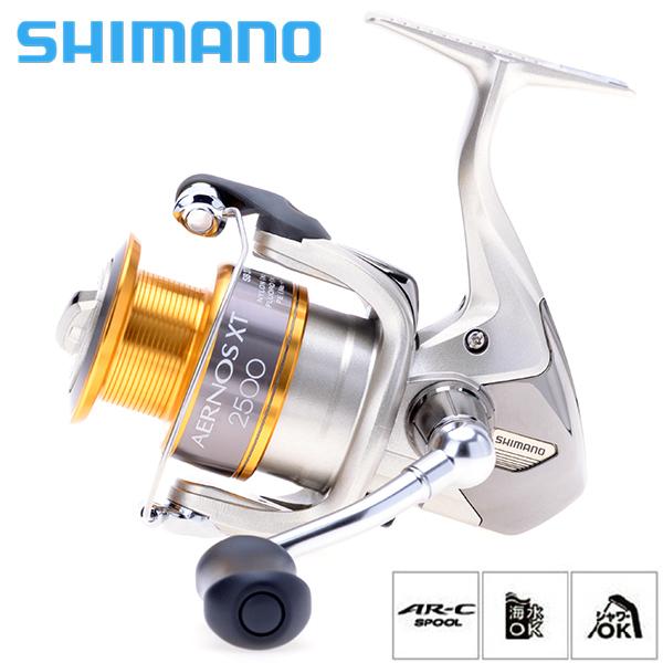 100% Original SHIMANO Brand AERNOS XT Series 1000 2000 2500 4000 Saltwater Spinning Fishing Reel 3+1BB Front Drag Fish Wheel(China (Mainland))