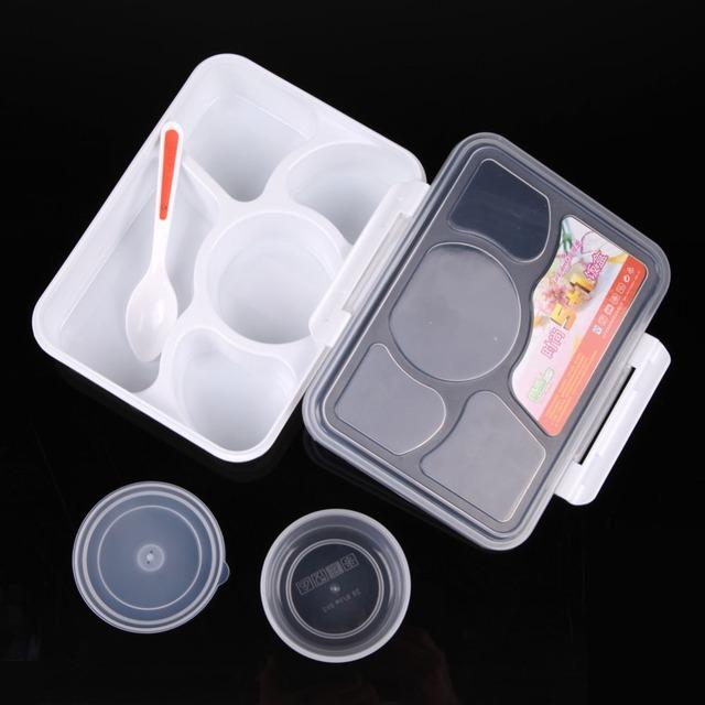 Microwave Bento Lunch Box 5+1