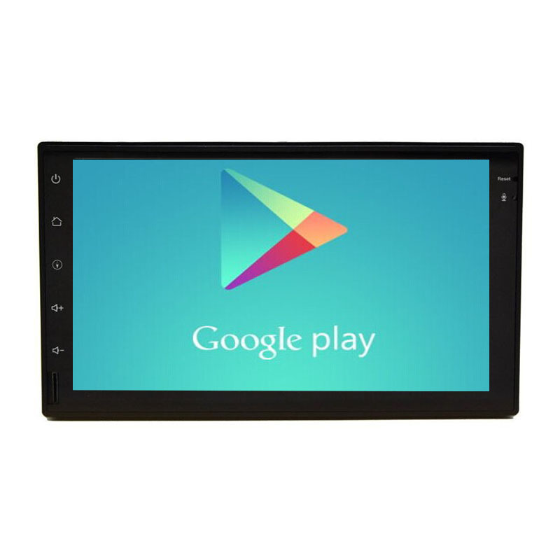 1024*600 Quad Core Universal 7 inch 2 din Android 4.4 Car player GPS+Wifi+Bluetooth+Radio+Capacitive Touch Screen+car pc+aduio(China (Mainland))