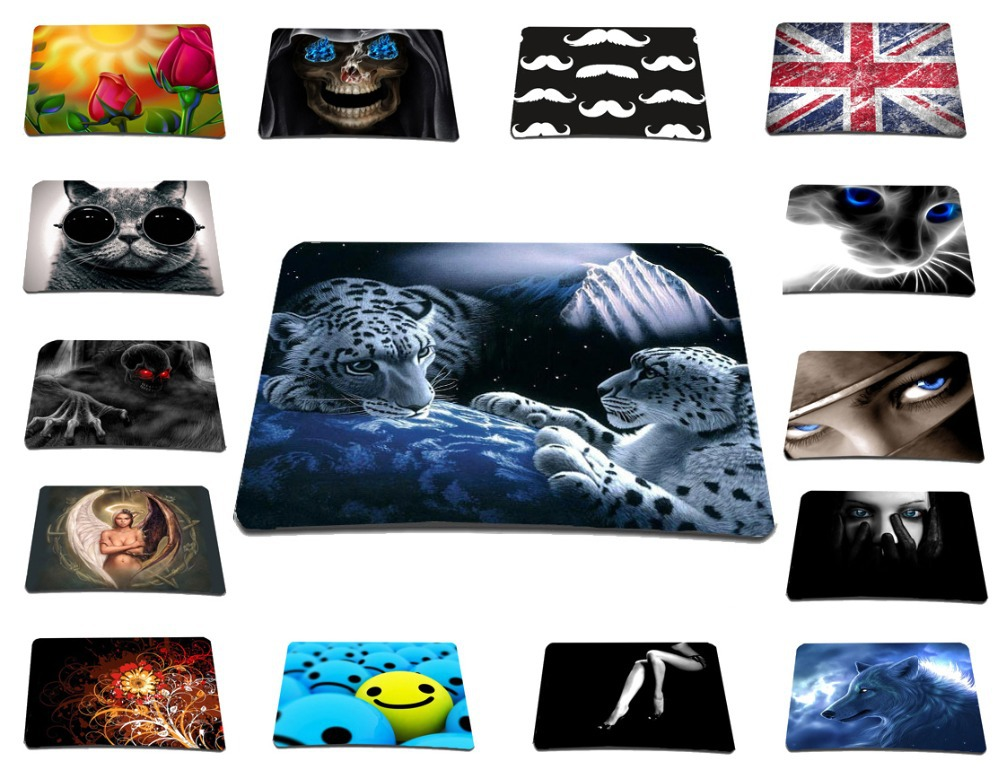 2015 New Stylish Gaming Mouse Pad Anti-Slip Mousepad Rubber Material Mice Mat For Computer Gamer Anime 3d Mouse Pad Computador(China (Mainland))
