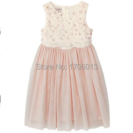 Free shippiing baby Buttons sequined dress foreign trade Childern Princess paillette skirt Ruffled Hemline Girl dresses<br><br>Aliexpress